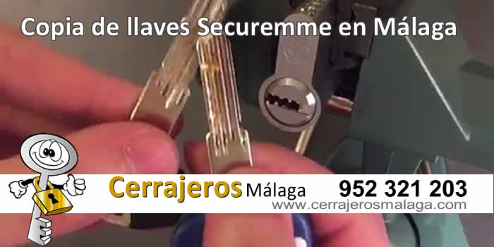 copias de llaves de securenme en malaga