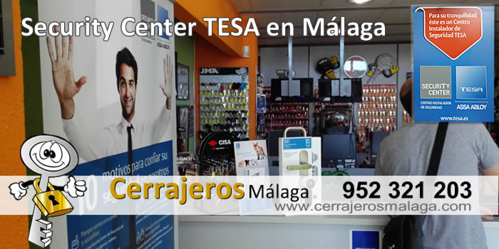 security center tesa en cerrajeros malaga